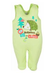 Kojenecké dupačky Bobas Fashion Ježek zelené