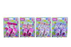 Ponožky a botičky pro panenky, Vel. 38-43 Simba