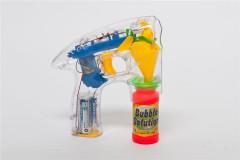 Bublifuková pistole svítící