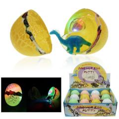 Dinosauří vajíčko se světlem