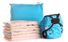 Bum fold pack eco tyrkysová - sada plen S (3-9 kg)