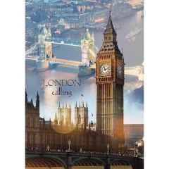 Puzzle Trefl Londýn za svítání 1000 dílků 48x68,3cm