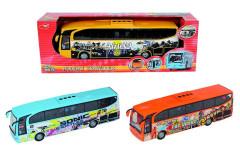 Autobus Holiday Traveller otevírací dveře