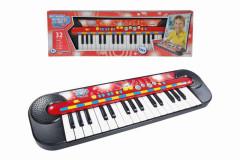 Piáno, 32 kláves, 45 x 13 cm, na baterie