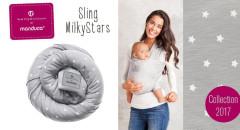 Belly button by Manduca sling MILKY STARS