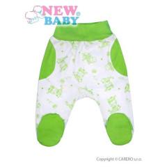 Kojenecké polodupačky New Baby Zebrababy II zelené