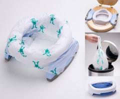 Cestovní nočník - redukce na WC Potette Plus 2v1