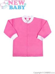 Kojenecký kabátek New Baby Zebrababy II růžový