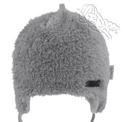 Zavazovací čepice podšitá bavlnou zdobená plíškem Šedá RDX