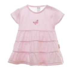 Šaty růžové s motýlkem MKCool