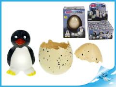 Tučňák líhnoucí a rostoucí ve vajíčku 6cm