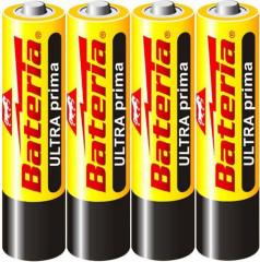 Baterie Ultra Prima R03/AAA 1,5V zinkochloridové 4ks