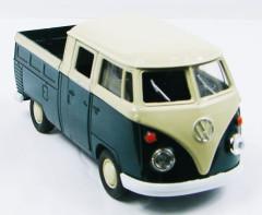Auto Welly VW pick-up 1:34 kov 11cm na zpětné natažení