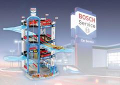 Bosch garáž - 4 patra