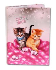Školní box A4 CATS & MICE, Emipo