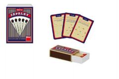 Zápalky společenská hra malá 50 hlavolamů se sirkami v krabičce
