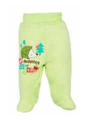 Kojenecké polodupačky Bobas Fashion Ježek zelené