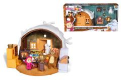 Máša a medvěd Zimní dům medvěda Simba