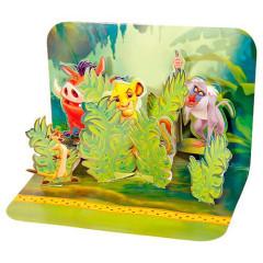 Blahopřání 3D Disney Lví král Zábava v džungli