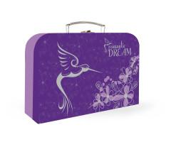 Dětský kufřík lamino PREMIUM Kolibřík