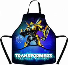 Zástěra Transformers černo-modrá NEW 2017