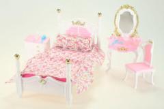 Glorie Ložnice a kosmetický stolek pro panenky