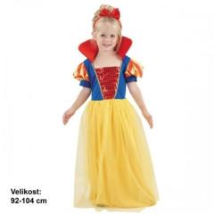 Dětský kostým na karneval Sněhurka 3 - 4 roky