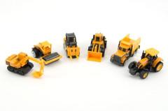 Auto stavební mini kov/plast 8cm volný chod