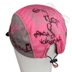 Funkční letní kšiltovka Coolmax RDX Vel. 5 a více let volejbal růžovo-šedá