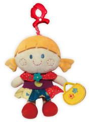 Dětská plyšová hračka Baby Mix Panenka