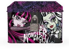 Plechová pokladnička se zámkem Monster High
