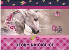 Desky na číslice Junior kůň NEW 2017