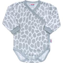 Kojenecké body celorozepínací New Baby Žirafa