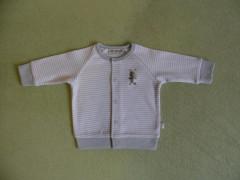 Bavlněný kabátek Kuki Baby Service vel. 62 - 74 Modrý