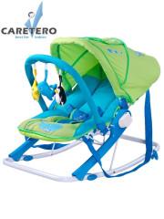 Dětské lehátko CARETERO Aqua green
