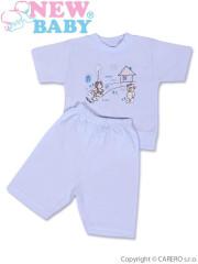Dětské letní pyžamo New Baby modré vel. 128
