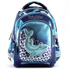 Školní batoh Dolphin I. - Modrý
