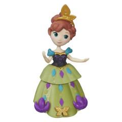 Frozen malé panenky - Anna  zelených šatech