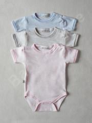 Body krátký rukáv melír Baby Service vel. 74