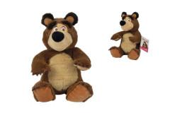 Máša a medvěd Plyšový medvěd 20cm, sedící Simba