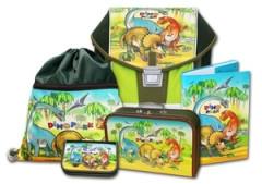 Školní aktovkový set ERGO ONE Dinopark 5-dílný Emipo
