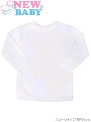 Kojenecká košilka New Baby bílá vel. 62