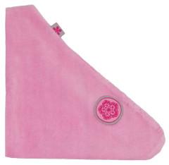 Šáteček/slintáček velurový růžový G-mini