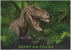 Desky na číslice Junior T-rex NEW 2017