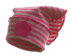 Šátek dívčí Růžový proužek Kytka MKCool