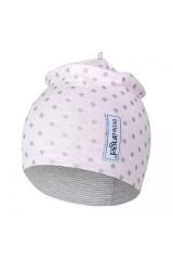 Čepice podšitá Outlast® Růžová lesk / puntík