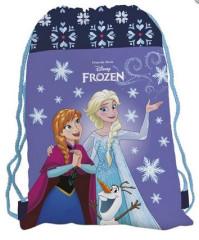 Sáček na cvičky Frozen III. fialový