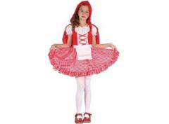 Karnevalový kostým - Červená Karkulka, Vel. 110 - 120 cm