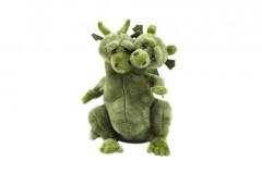 Plyšový drak Čmoudík zpívající 18 cm
