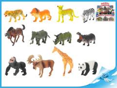 Zvířátka safari 11-15cm 12druhů